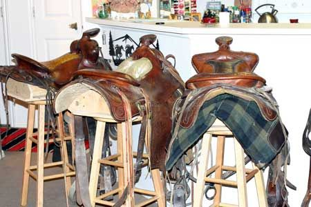 Ideas On How To Make A Saddle Stool Saloon Ideas