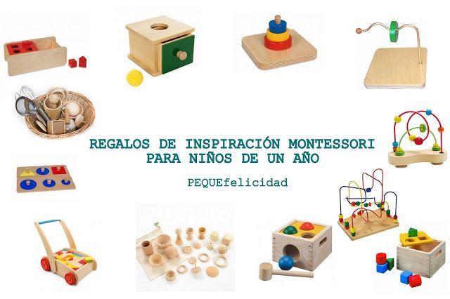 65 Ideas De Regalos Para Ninos De Un Ano Montessori Pinterest