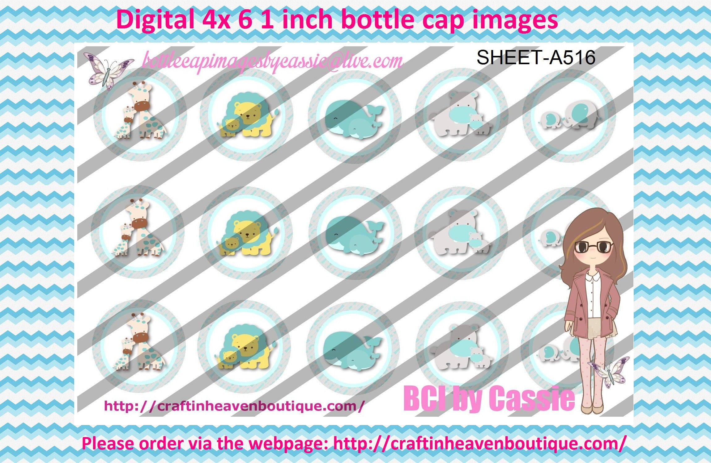 1' Bottle caps (4x6) Digital Baby Love Animals A516  Animal bottle cap images #animals #bottlecapimages #bottlecap #BCI #shrinkydinkimages #bowcenters #hairbows #bowmaking #ironon #printables #printyourself #digitaltransfer #doityourself #transfer #ribbongraphics #ribbon #shirtprint #tshirt #digitalart #diy #digital #graphicdesign please purchase via link  http://craftinheavenboutique.com/index.php?main_page=index&cPath=323_533_42_117