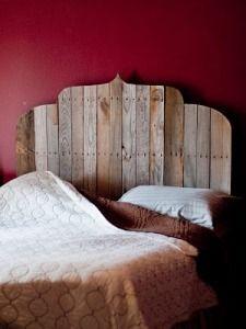 Selbstgemachte Kopfteile · Betten · Cabecera Cama Pallets