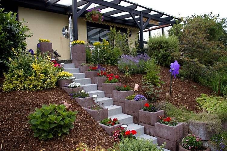 Emejing Amenagement Jardin En Pente Photos - Ridgewayng.com ...
