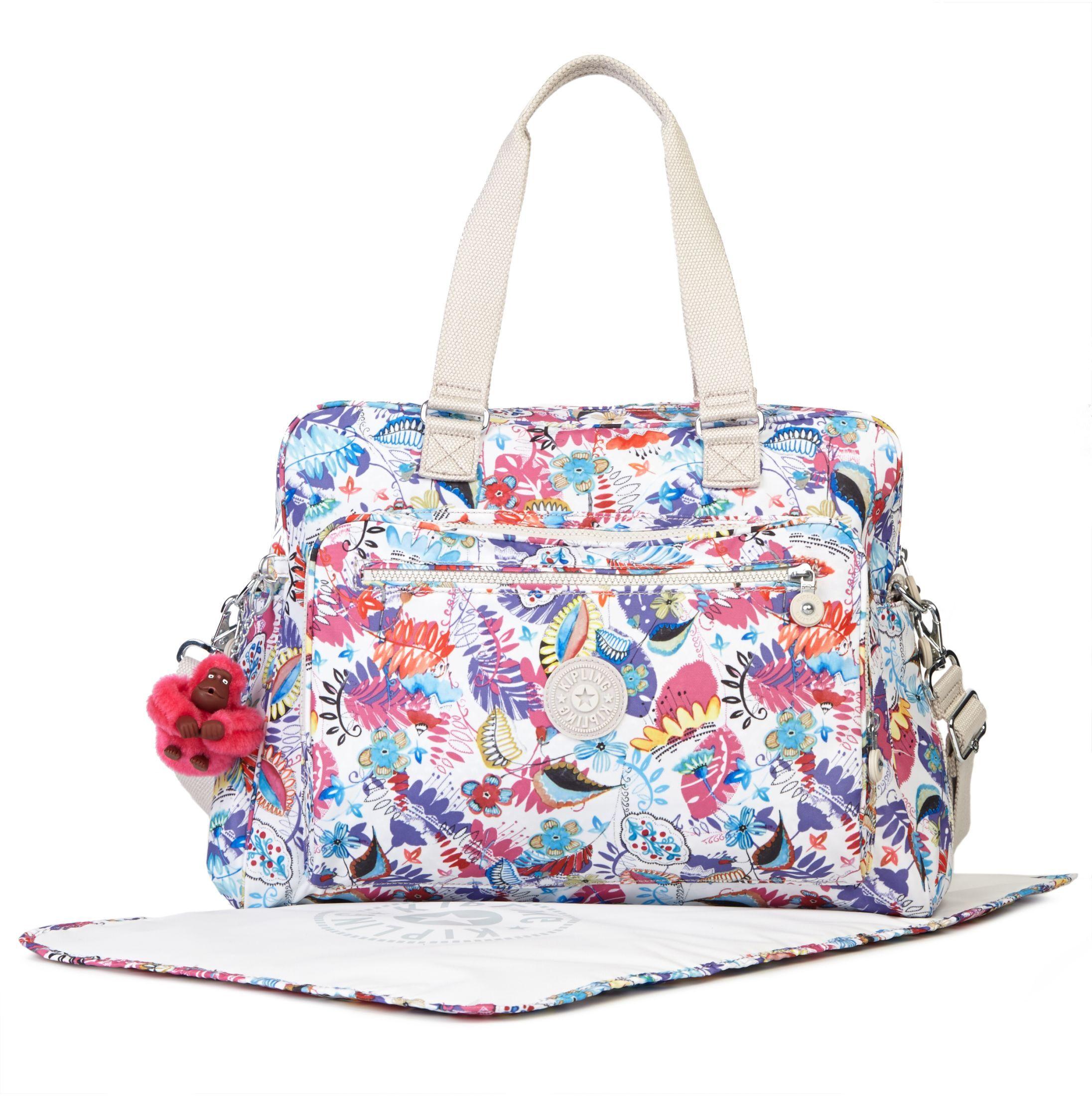 Alanna Printed Baby Bag - Whimsy Floral | Kipling