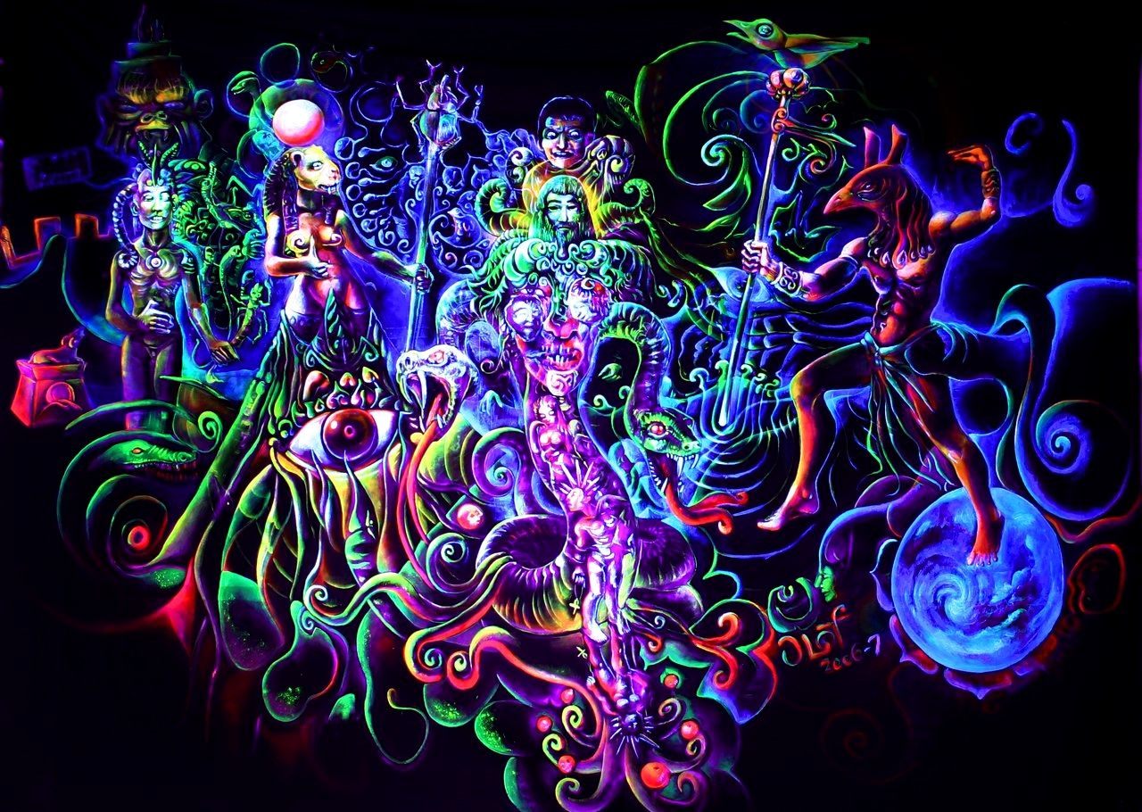 Dark Psychedelic Wallpapers Google Search Psychedelisch
