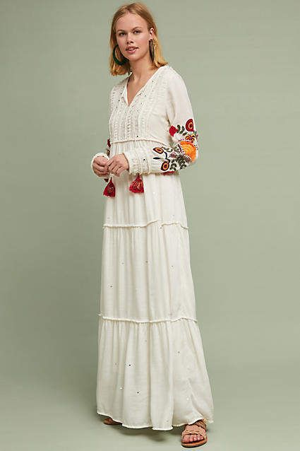 Verb by Pallavi Singhee Winsome Maxi Dress #ad | Your Anthropologie  Registry | Pinterest | Maxi dresses, Anthropologie and Summer