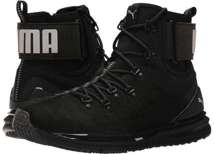 Boots, Leather boots, Puma ignite limitless