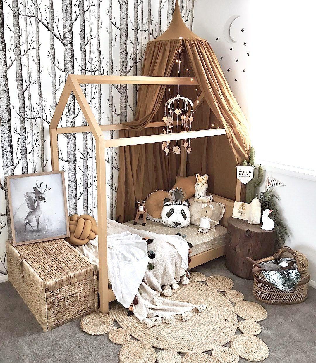 Chambre Lit Cabane Fille une chambre d'enfant de rêve - planete deco a homes world