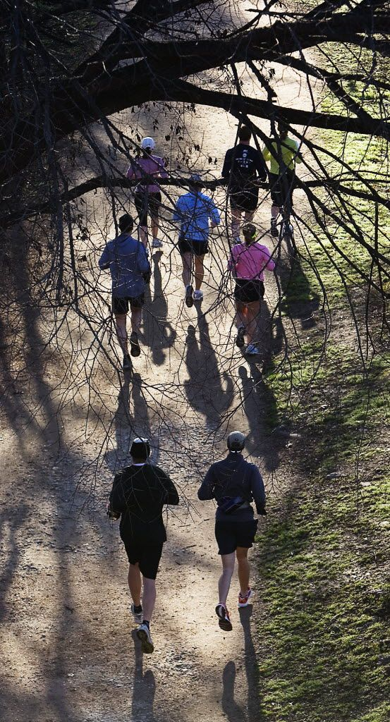 The Ann And Roy Butler Hike And Bike Trail At Lady Bird Lake In