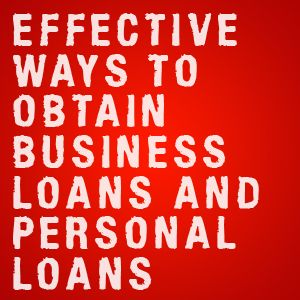 Effective Ways To Obtain Business Loans And Personal Loans Business Loans Personal Loans Fund Management