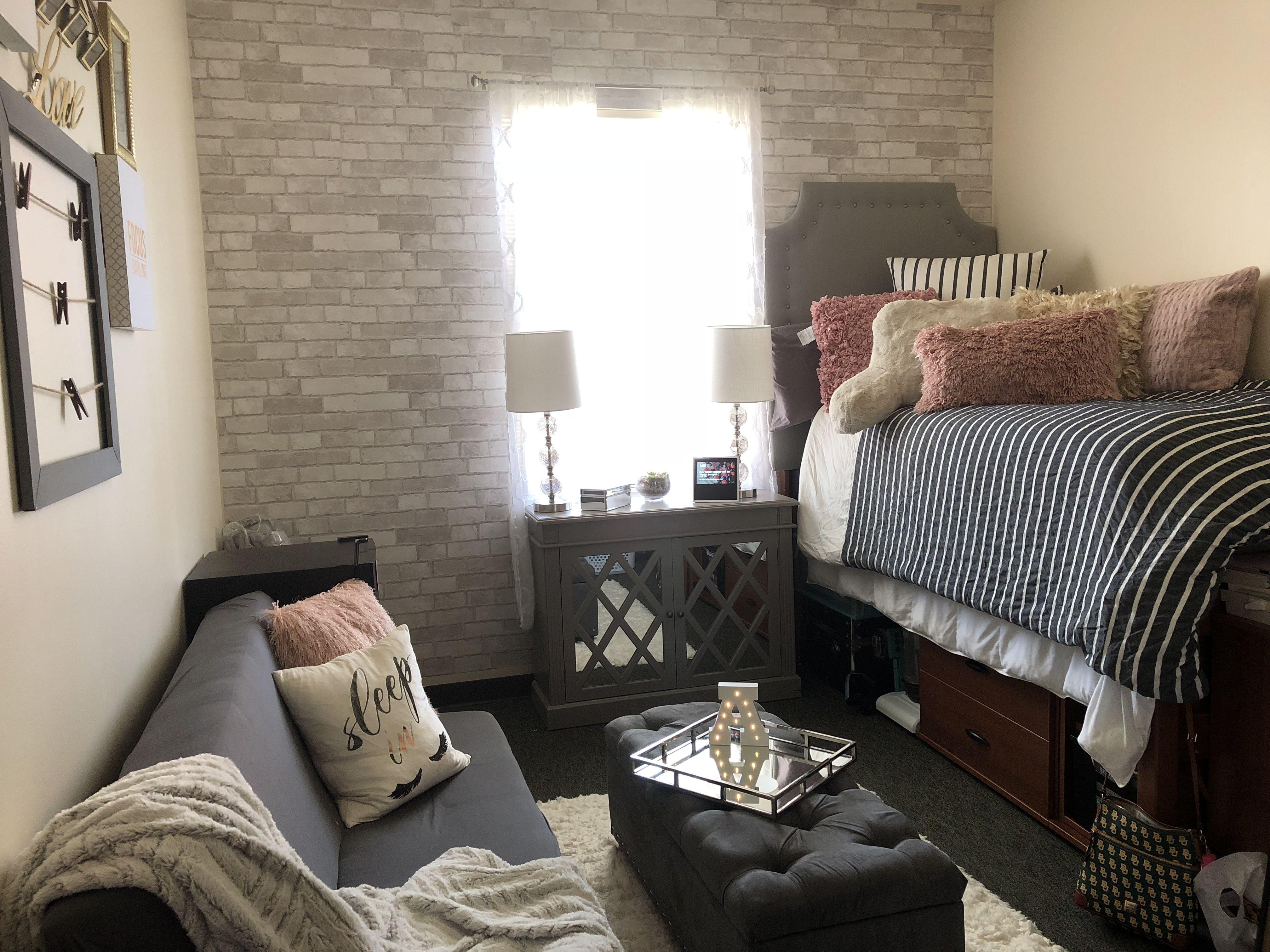 Baylor University Dorm Room At Brooks Residential College Room