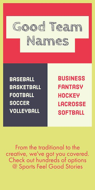 Good Team Names For Sports Teams Rec And Business Groups Make Your