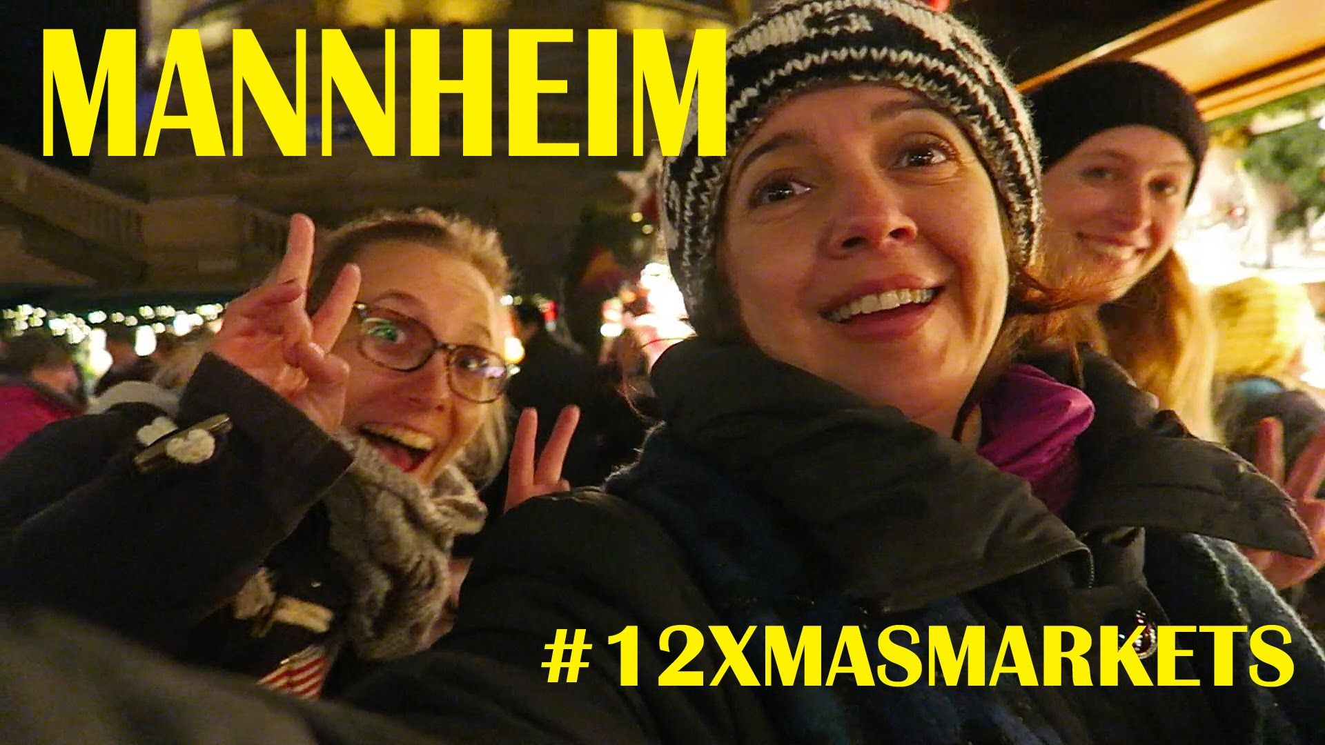 12 Days of Christmas Markets Mannheim (Germany