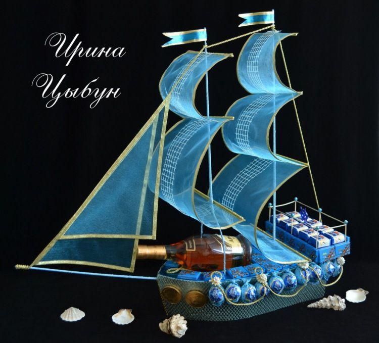 корабль из конфет своими руками пошаговое фото поэтому люди, приезжая