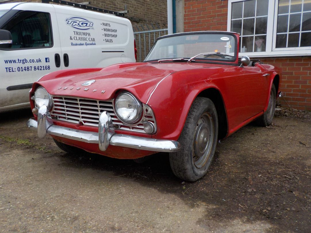 Ebay 1964 Lhd Triumph Tr4 Project Spares Or Repairs Classiccars Cars Classic Cars Classic Car Sales Triumph