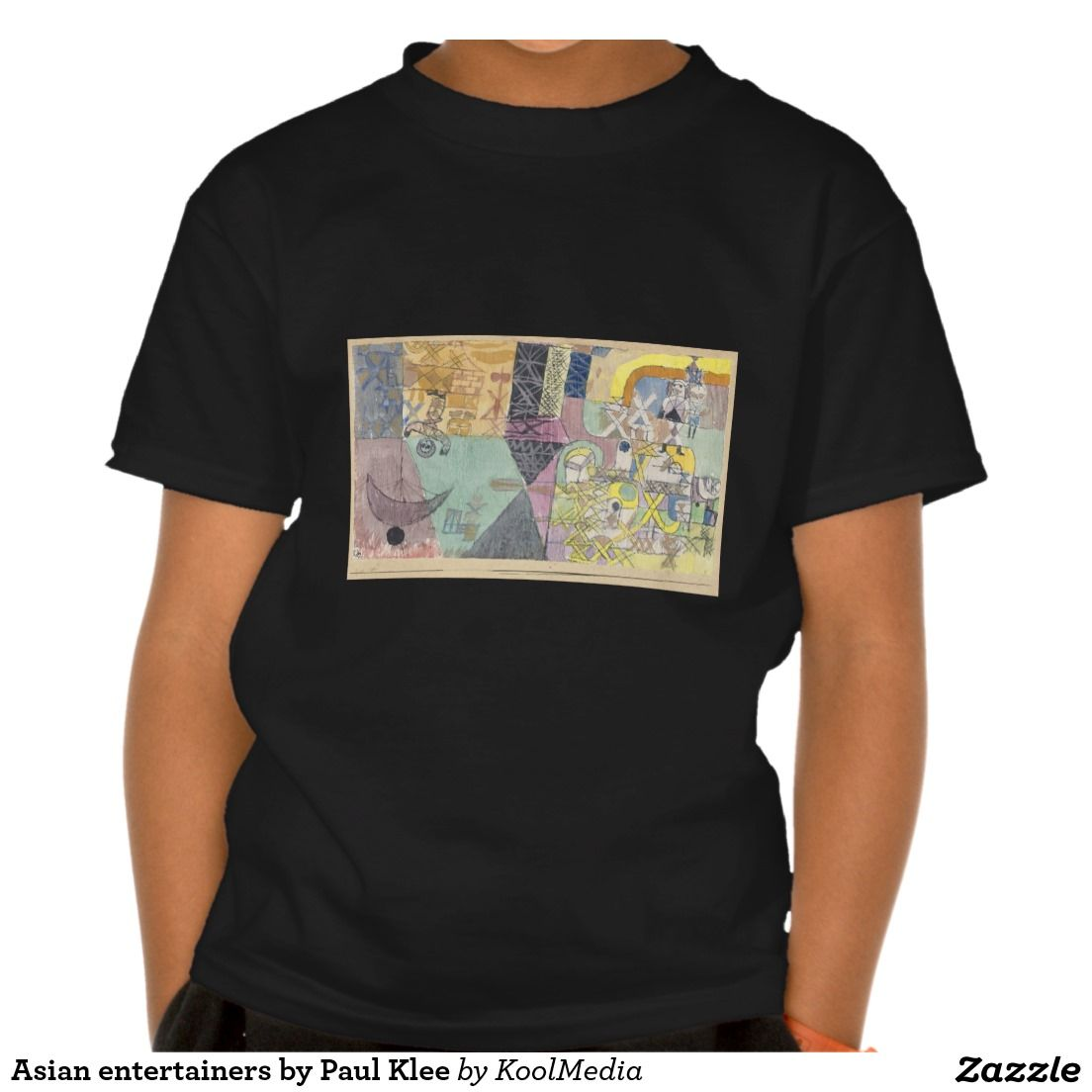 Asian entertainers by Paul Klee Shirt