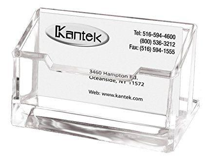 Kantek Acrylic Business Card Holder Fits 80 Business Cards Clear 4 X 1 7 8 X 2 Inches Ad30 Business Card Holders Clear Acrylic Business Cards
