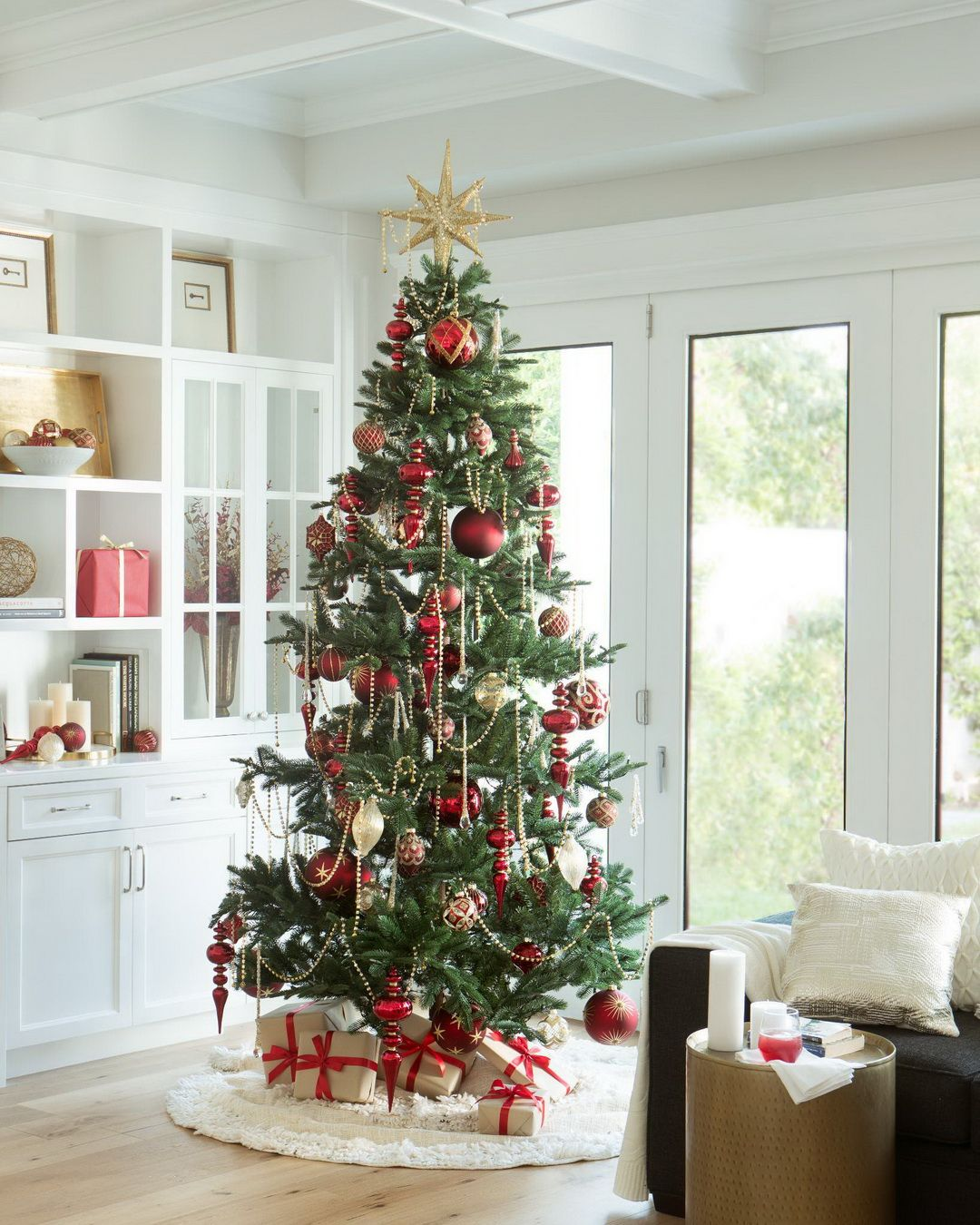 Our Mountain Fir Captures The Beauty Of Western North American Evergreens Sparse B Beautiful Christmas Decorations Balsam Hill Christmas Tree Xmas Tree Skirts