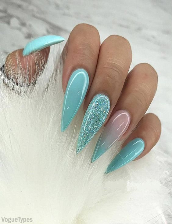 Pretty Nail Art Ideas Designs To Fancy Up Your Fingers Ombre Nail Designs Stilleto Nails Designs Nails