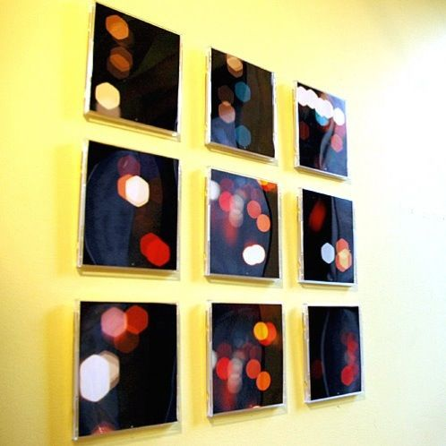 12 Simple Wall Art Projects to Make | Cd cases, Clever and Crafts