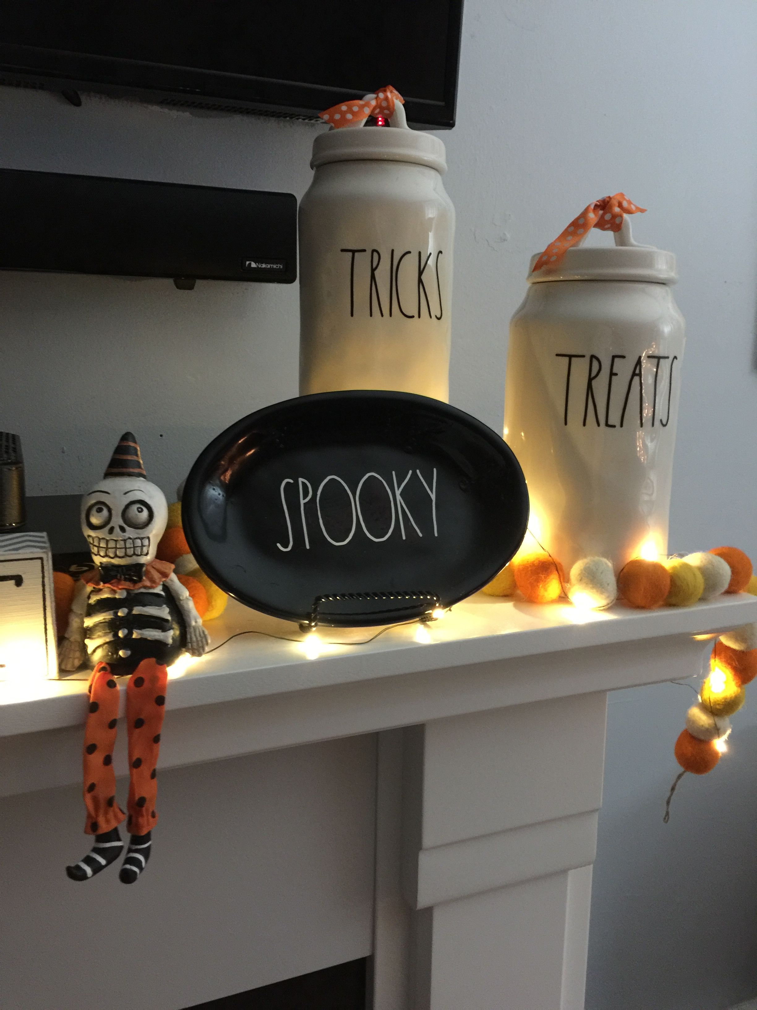Rae Dunn -Halloween Dishes 2 Pinterest Decoration and House - Halloween House Decoration