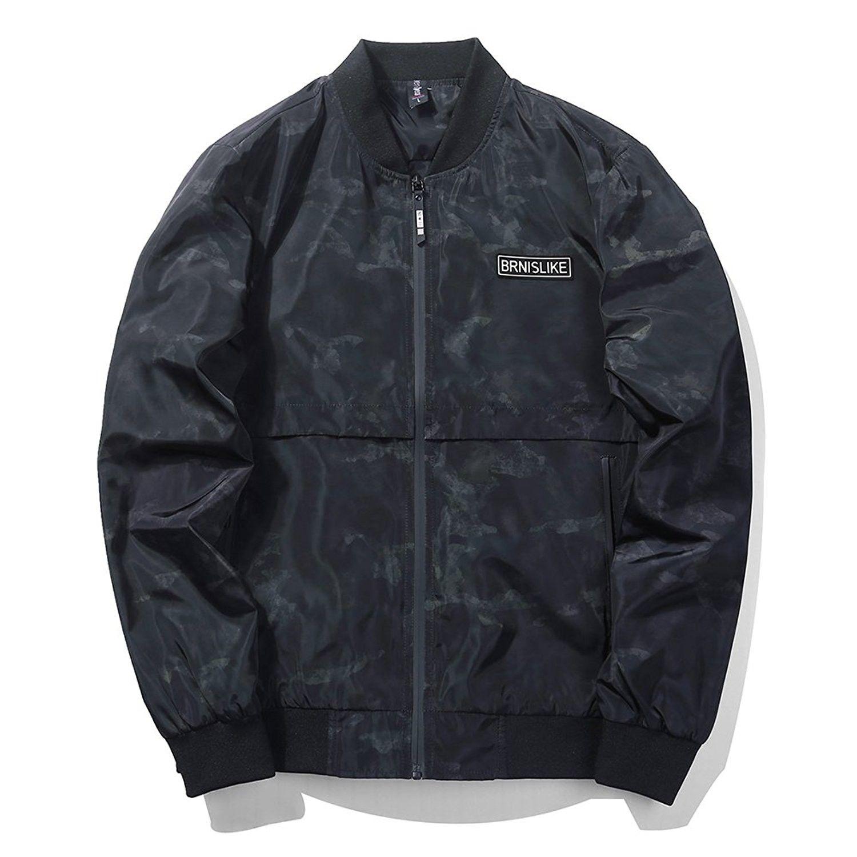 Men S Clothing Jackets Coats Lightweight Jackets Men S Casual Baseball Bomber Windbreaker Jacket Slim Fit Bomber Jacket Bomber Jacket Mens Jackets Casual [ 1500 x 1500 Pixel ]