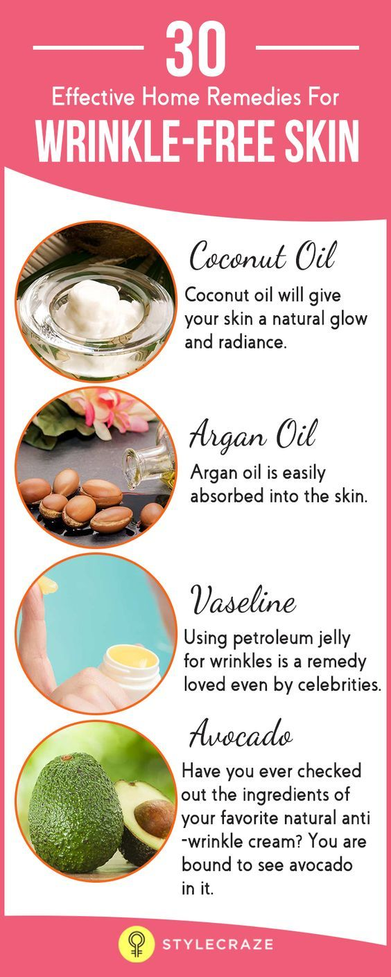 30 Effective Home Remedies To Get Rid Of Wrinkle-Free Skin