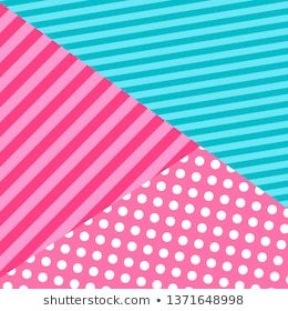Cute pattern background in lol doll surprise style. vector