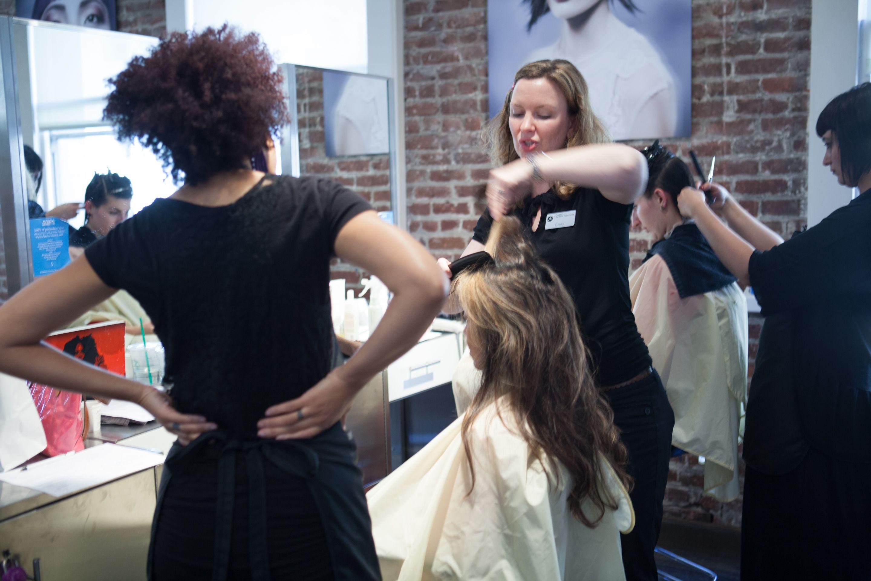 Groupon mens haircut cinta aveda institute  cinta aveda  around the institute