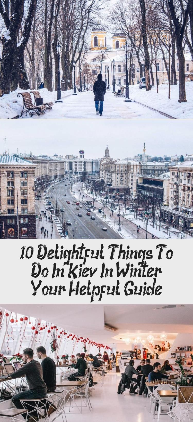 The list of delightful things to do in Kiev in winter. They are all interesting and unique. Check these super cool winter Kiev tips for your trip to Ukraine. #EuropeTravel #Kiev #Ukraine #WinterTravel #EasternEurope #travelingwinterSnow #Icelandtravelingwinter #Switzerlandtravelingwinter #travelingwinterUSA #travelingwinterWarm
