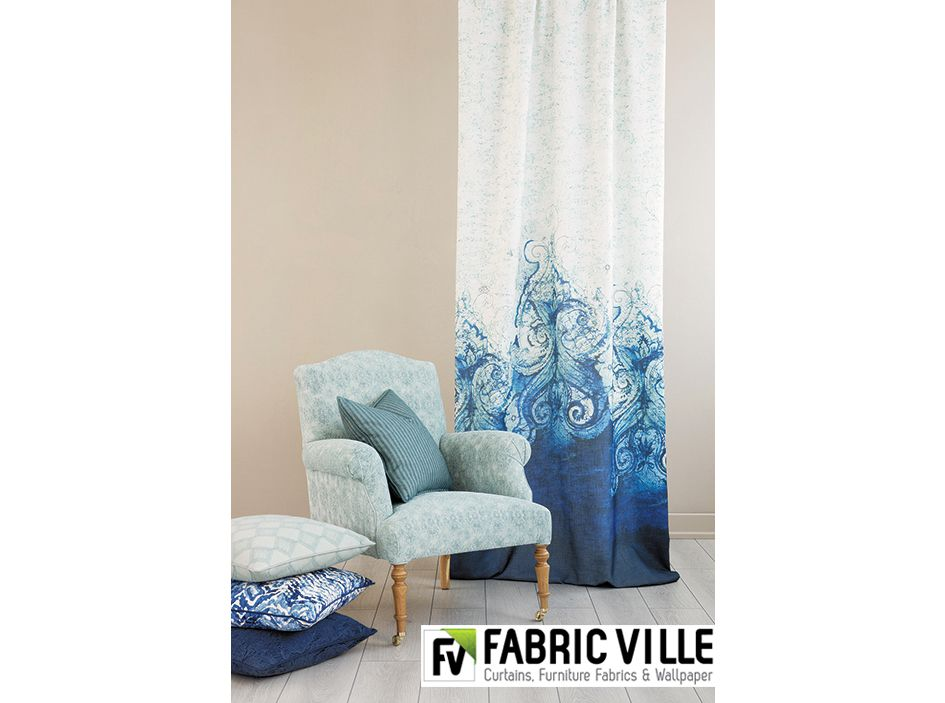 Amazing Turquoise And Blue Fabrics In Lebanon   Curtains And Sofa Fabrics   Furniture  Fabrics. New