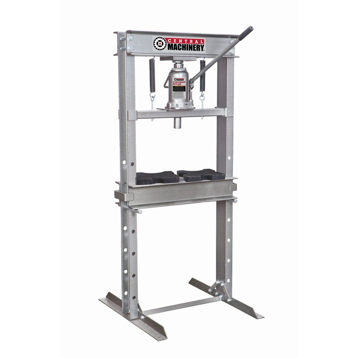 20 Ton H Frame Industrial Heavy Duty Floor Shop Press