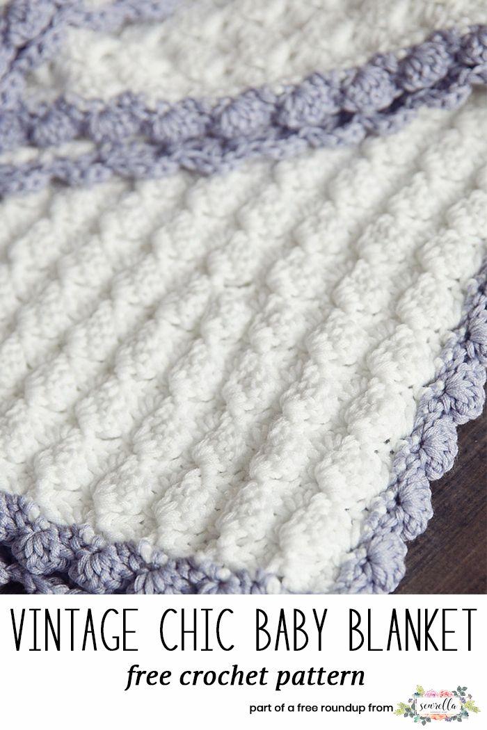 The Best Free Crochet Baby Blankets for Girls | Joyas de ganchillo ...