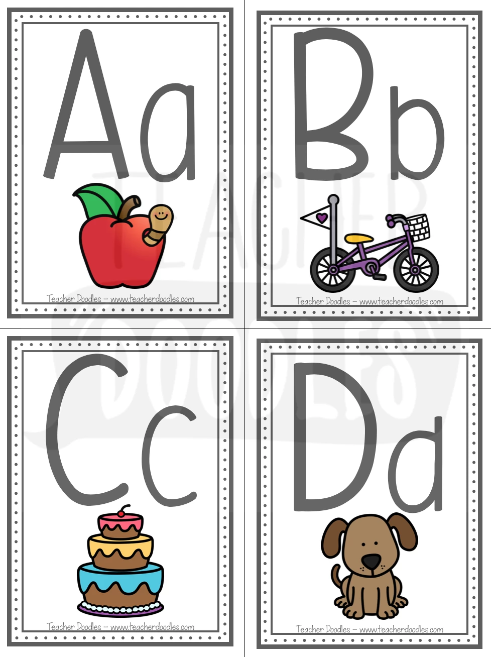 Letter/Sound Flashcards Letter sounds, Teaching letters