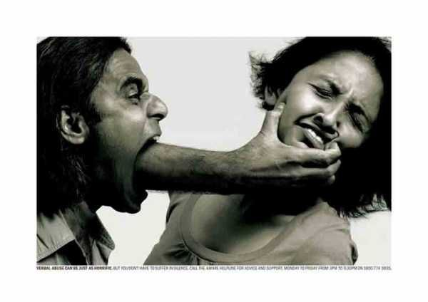 Yes.. when someone screams to you is hitting to you.. don´t allow this behaivor never!