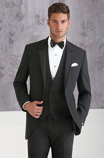 612237f3697a Click to Buy << 2017 Latest Coat Pant Designs Black Formal Men Suit Slim  Fit Outfit Gentlemen Custom Simple Men Tuxedo 3 Piece Masculino L39  #Affiliate