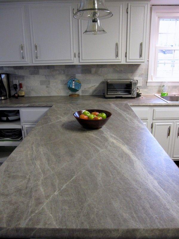 New Soapstone Style Laminate Countertops