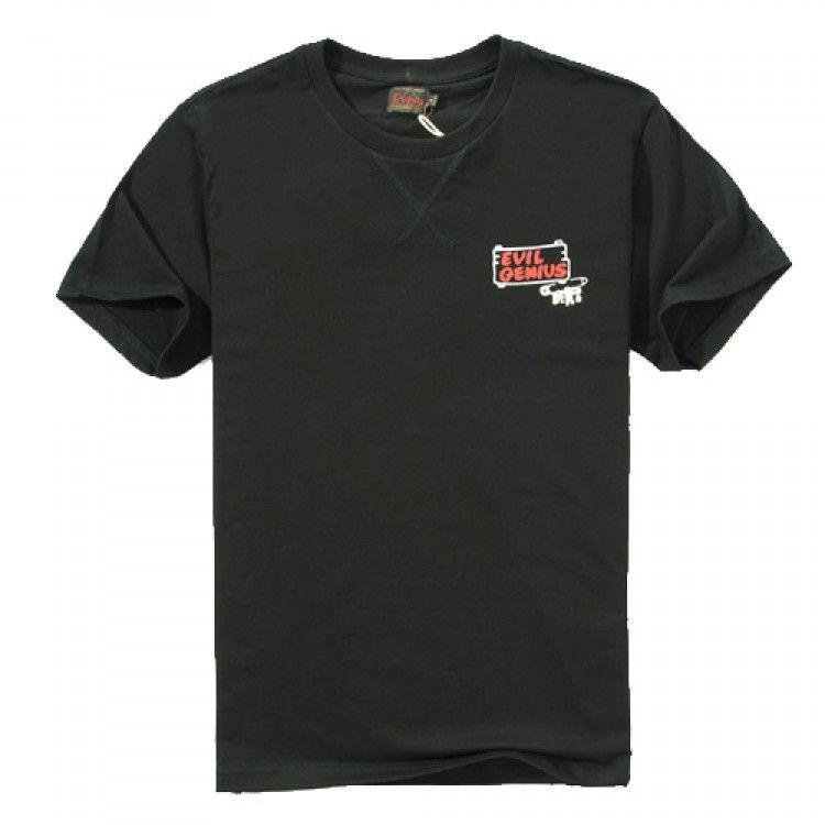 Evisu Evil Genius Destroy God T-Shirt available at fusionswag.com #fusionswag #Evisu #tees #tshirt #streetfashion #streetwear #urbanwear