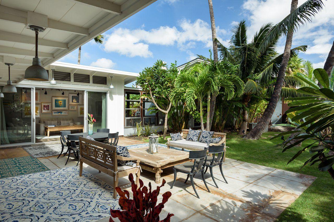 modern home in Kihei, Maui Plantation style homes, Beach