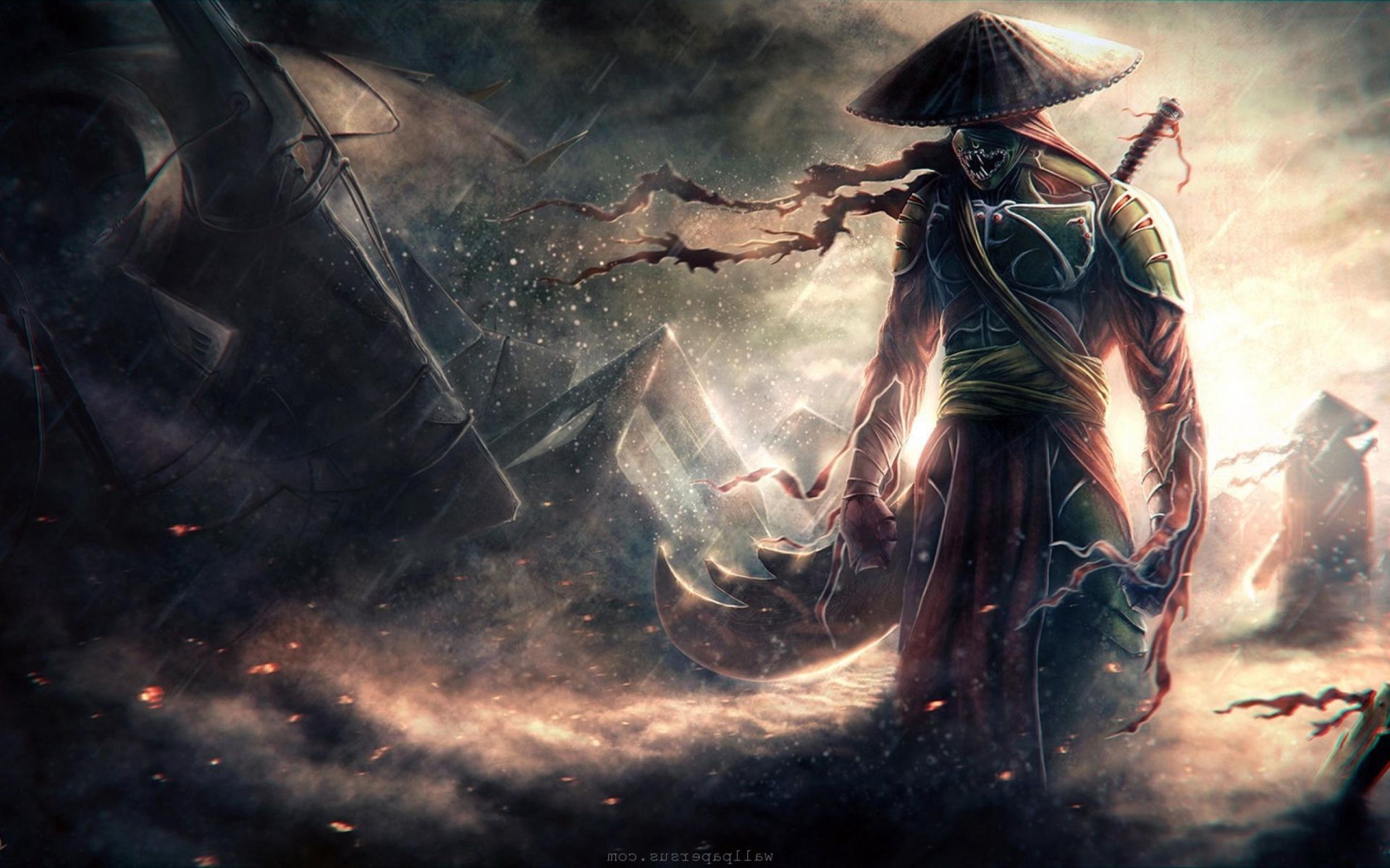 Epic Fantasy Wallpapers Dark Free Samurai Wallpaper Warriors Wallpaper Fantasy Warrior