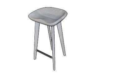 3d warehouse. stool.
