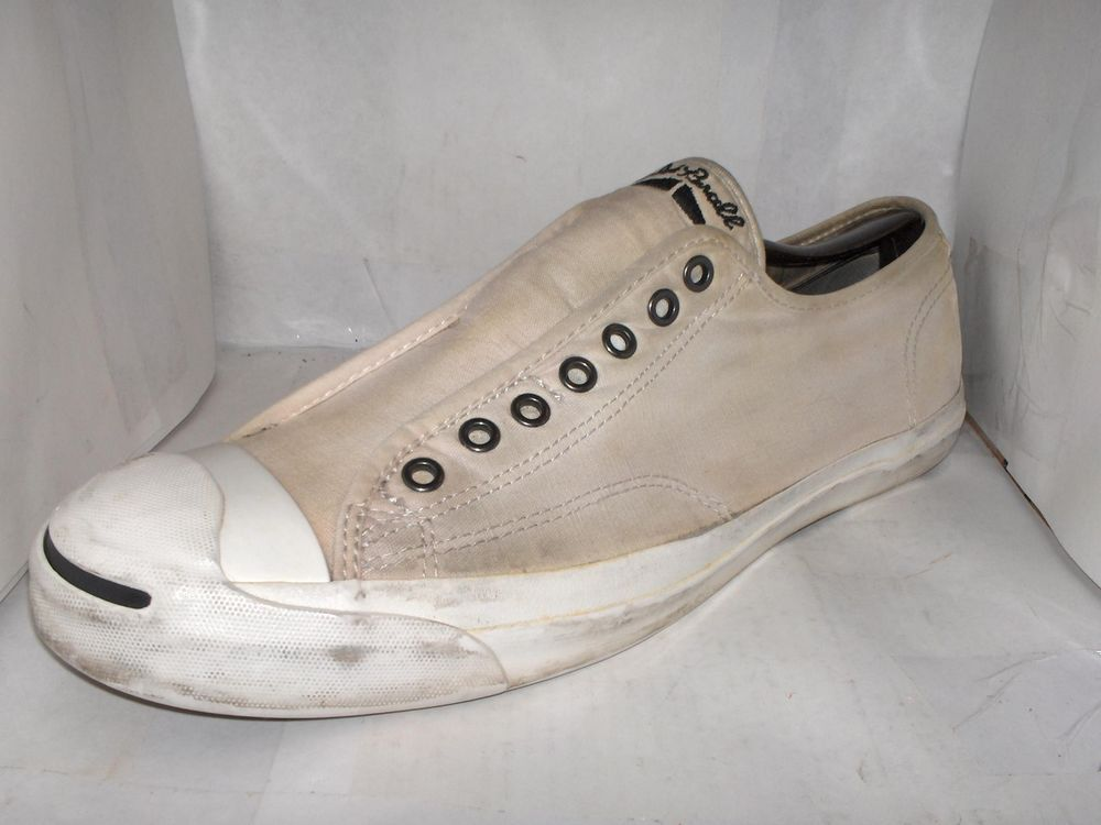 VINTAGE CONVERSE JACK PURCELL WHITE