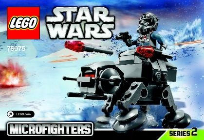 Star Wars Microfighters At At Lego 75075 Lego Sets Of Epicness