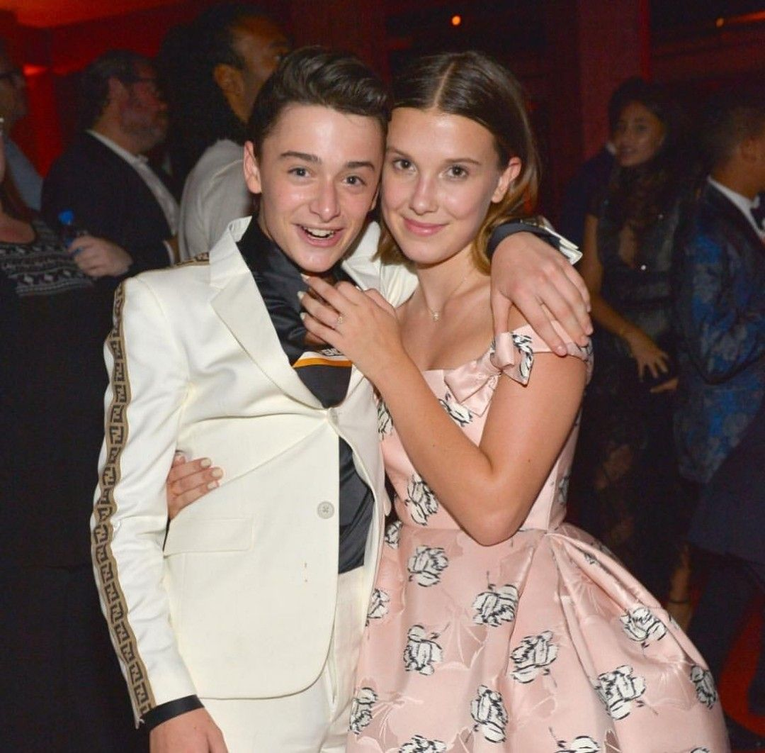 Millie Bobby Brown and Noah Schnapp Emmy Awards 2018