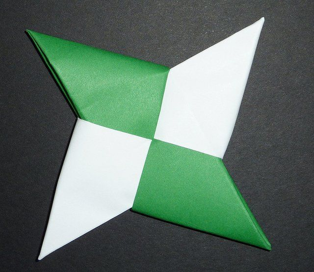 Origami Ninja Shuriken Ninja Star Ninja Star Shuriken And Origami