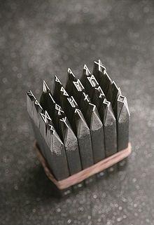 Runic Steel Stamps Elder Futhark Made By Schmuckstempel De