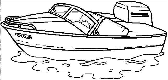 Bass Boat Coloring Pages From Boat Coloring Pages Printable