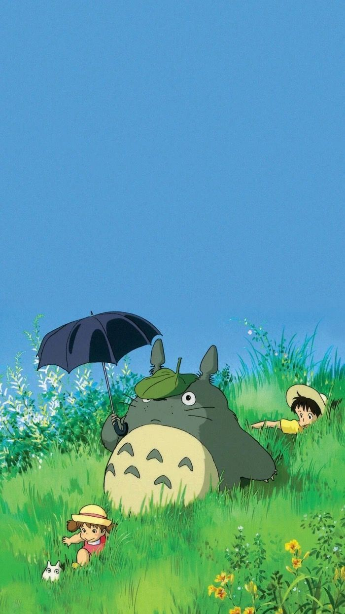 Mi Vecino Totoro 4.5/5 | Studio ghibli background, Anime scenery wallpaper, Ghibli artwork