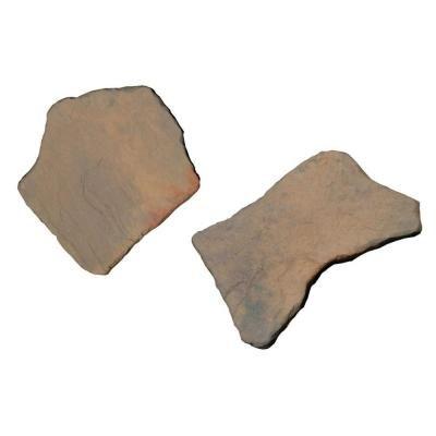 nantucket pavers 20 in. x 21 in. irregular concrete tan variegated