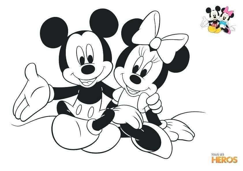 11 Pratique Mickey Et Minnie Coloriage Pictures Mickey Mouse Coloring Pages Minnie Mouse Coloring Pages Disney Coloring Pages