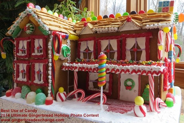 Best Use Of Candy 2014 Ultimate Gingerbread Holiday Gingerbread Photo Contest Gingerbread Holiday Christmas Gingerbread House Gingerbread House Cookies