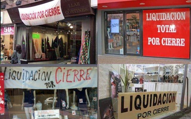 3.200 comercios cerraron en los últimos meses en la ciudad y provincia de Buenos Aires